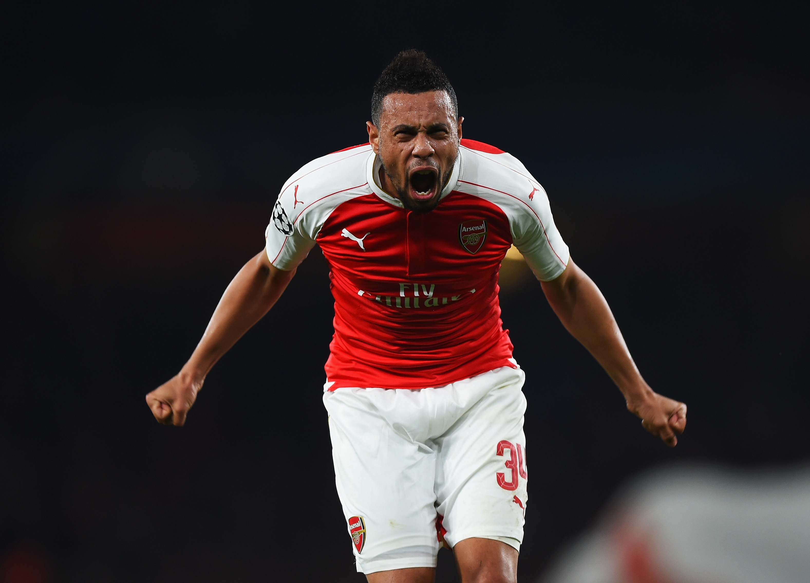 Image result for coquelin xhaka wilshere
