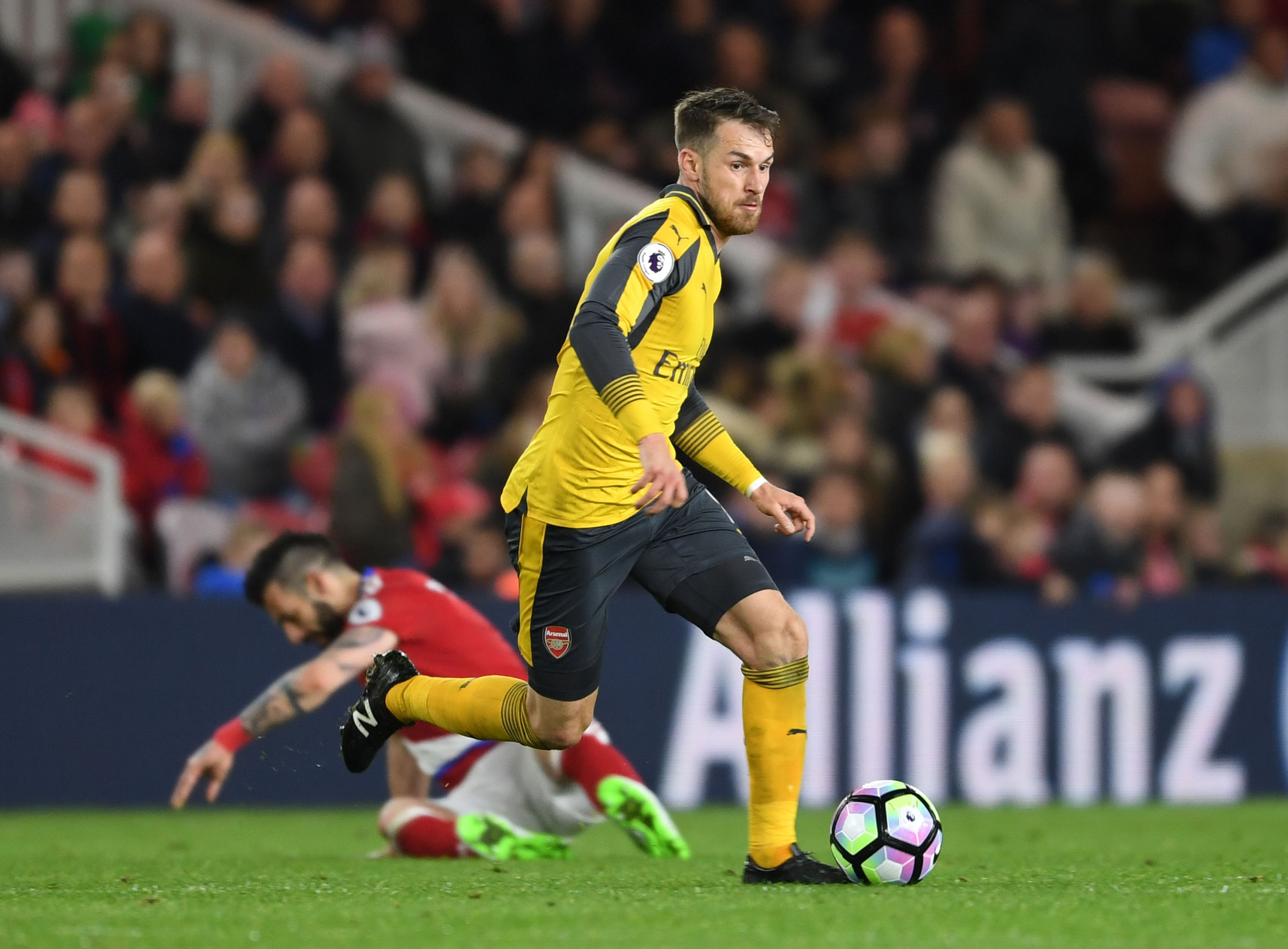 Arsenal 3 Signs Aaron Ramsey Had A Fantastic Game