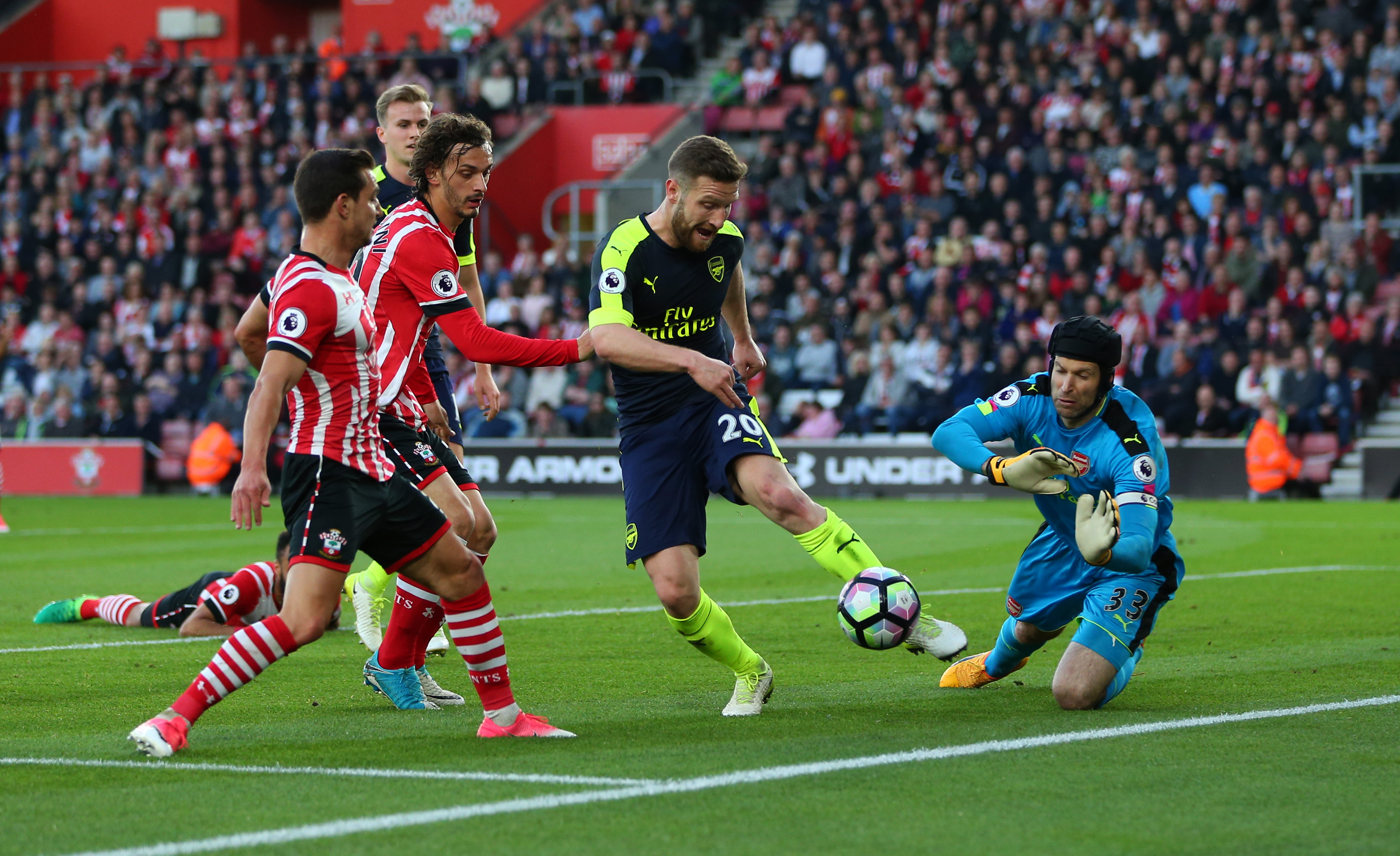 Arsenal Vs Southampton: Player Ratings