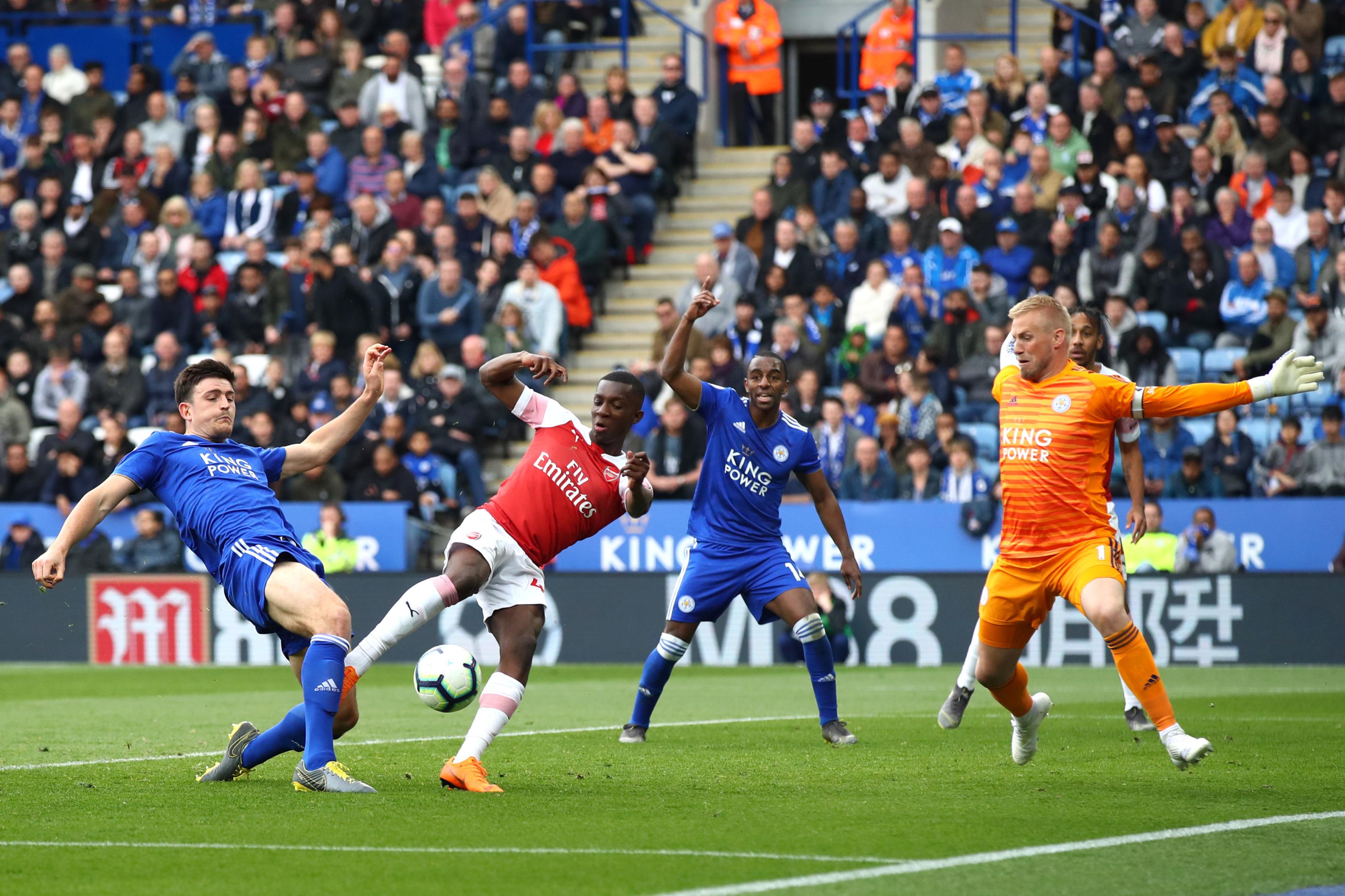 Arsenal Vs Burnley: Eddie Nketiah, this is your shot