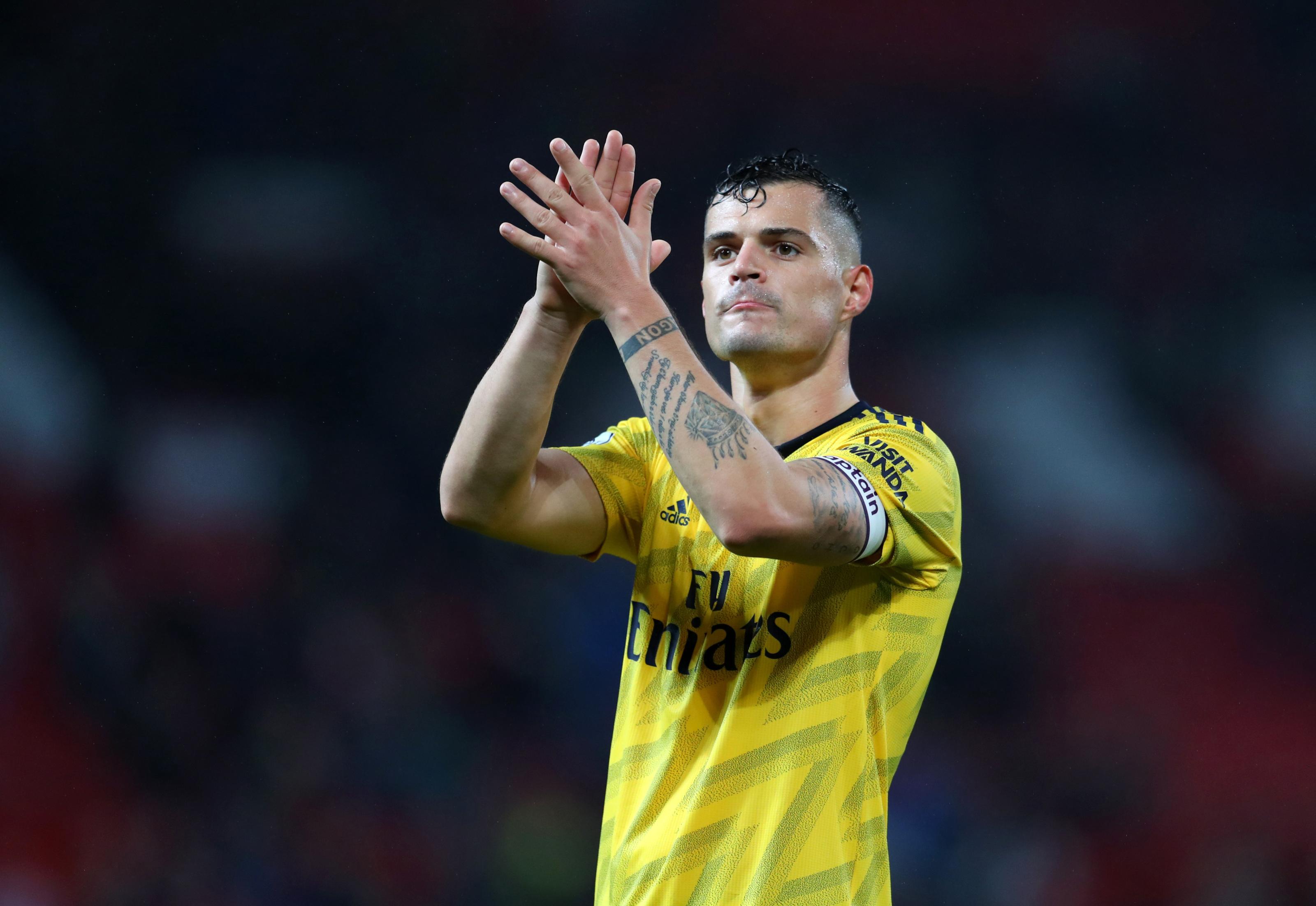Arsenal: Give Granit Xhaka credit