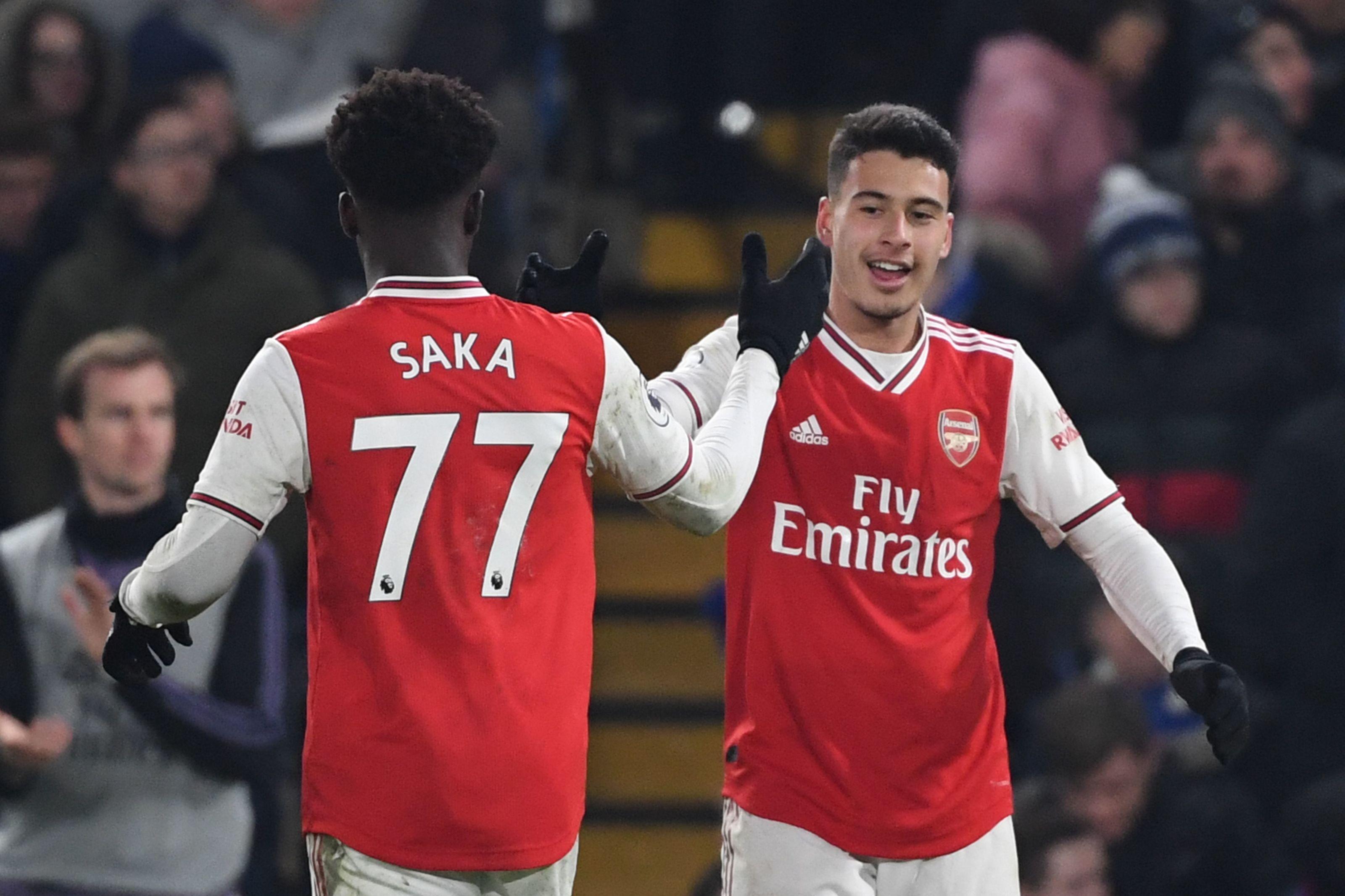 Arsenal: Bukayo Saka vs Gabriel Martinelli is just silly