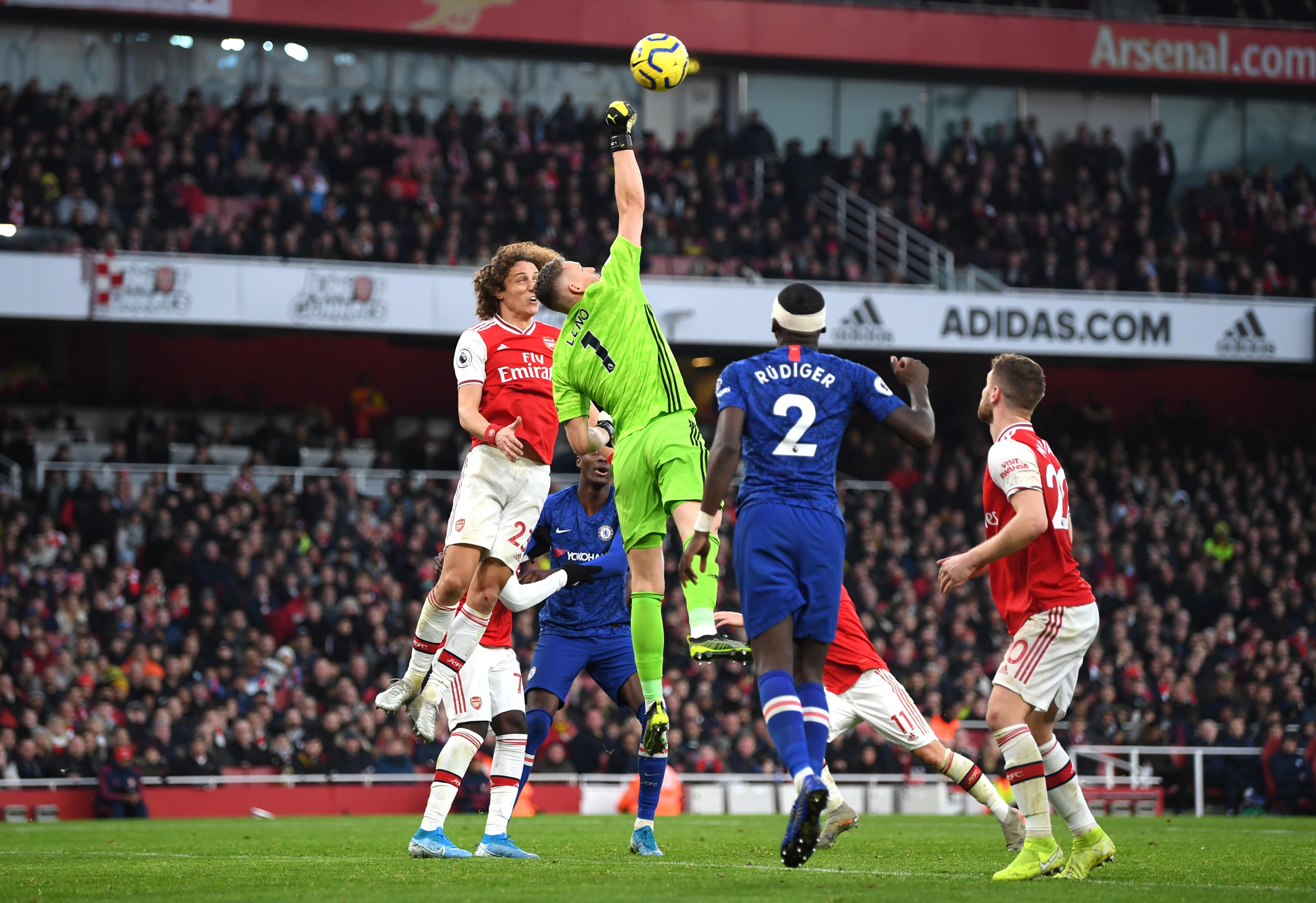 Arsenal Vs Chelsea: Give Bernd Leno A Break