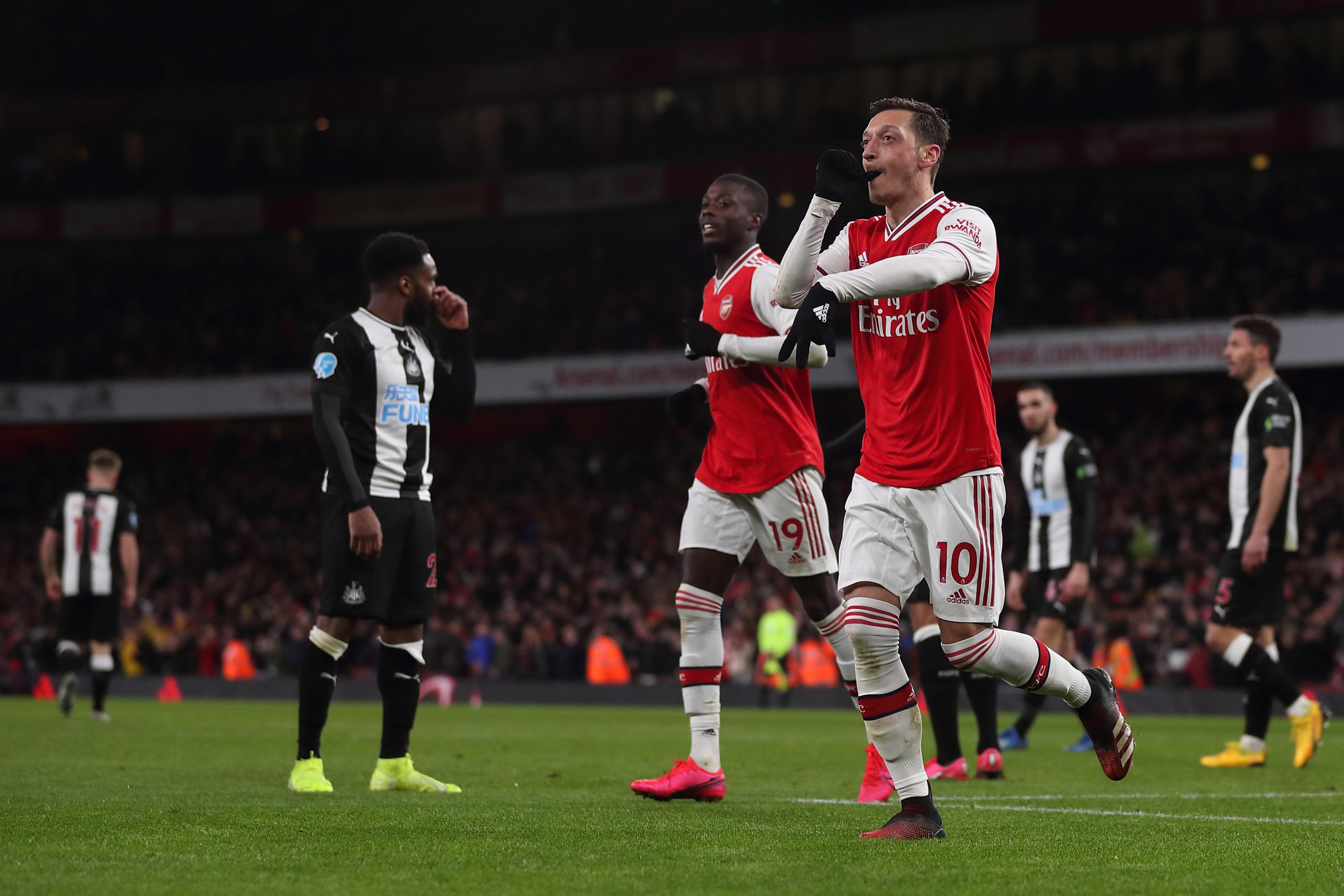 Arsenal: Maybe Mesut Ozil just needed Dani Ceballos