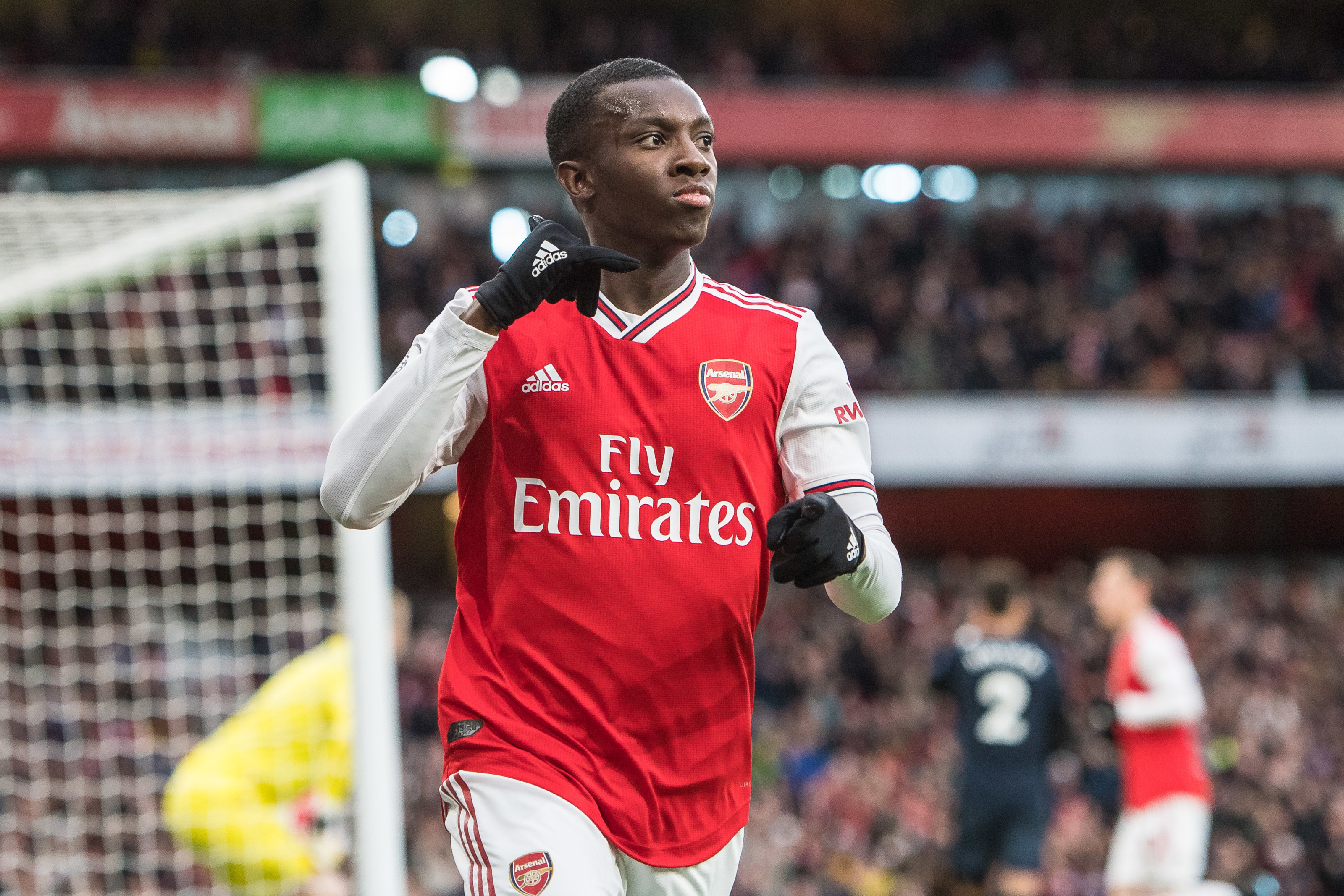 Is Eddie Nketiah Ready to Lead the Line for Arsenal Next Season?