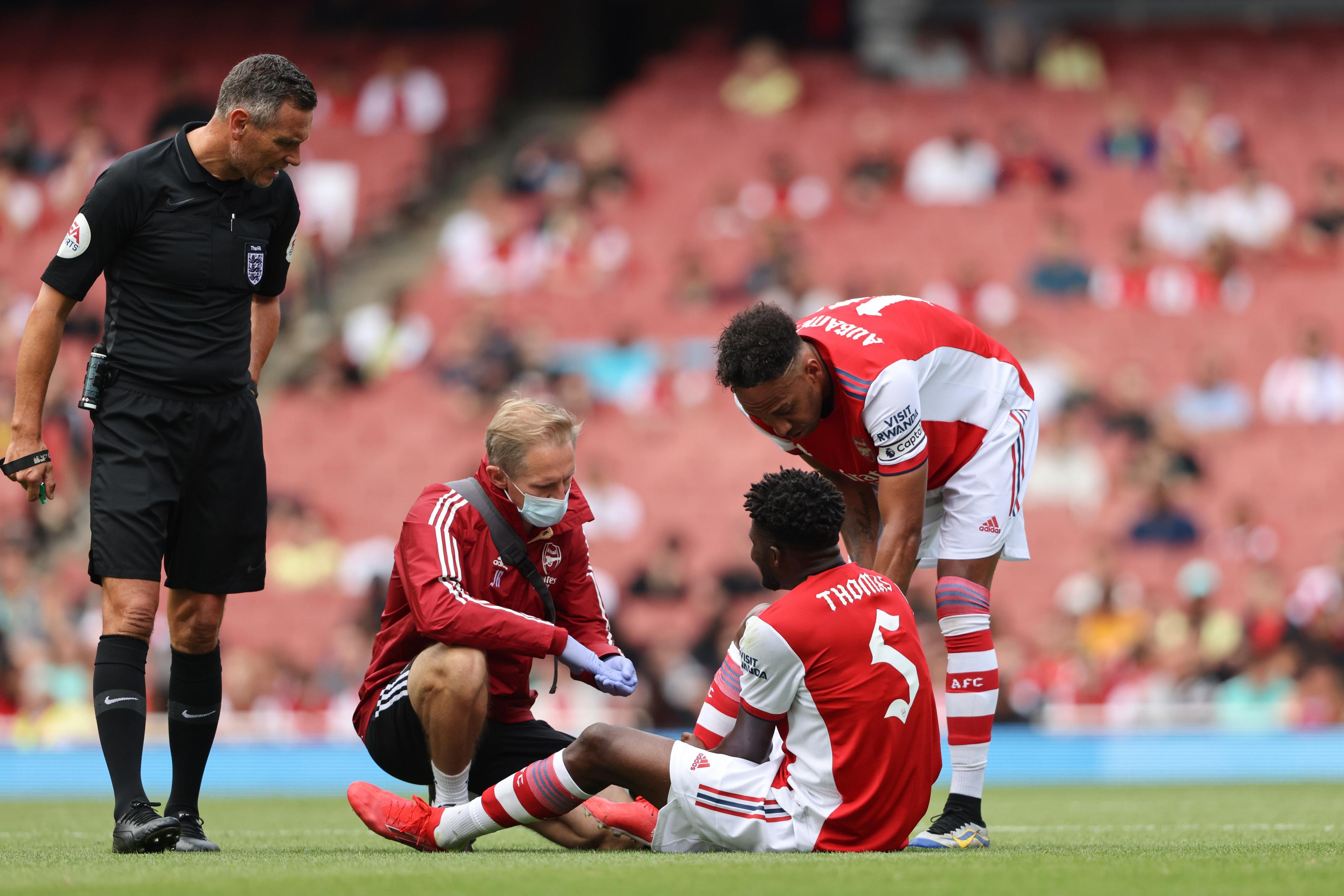 Arsenal suffer huge Thomas Partey double injury blow