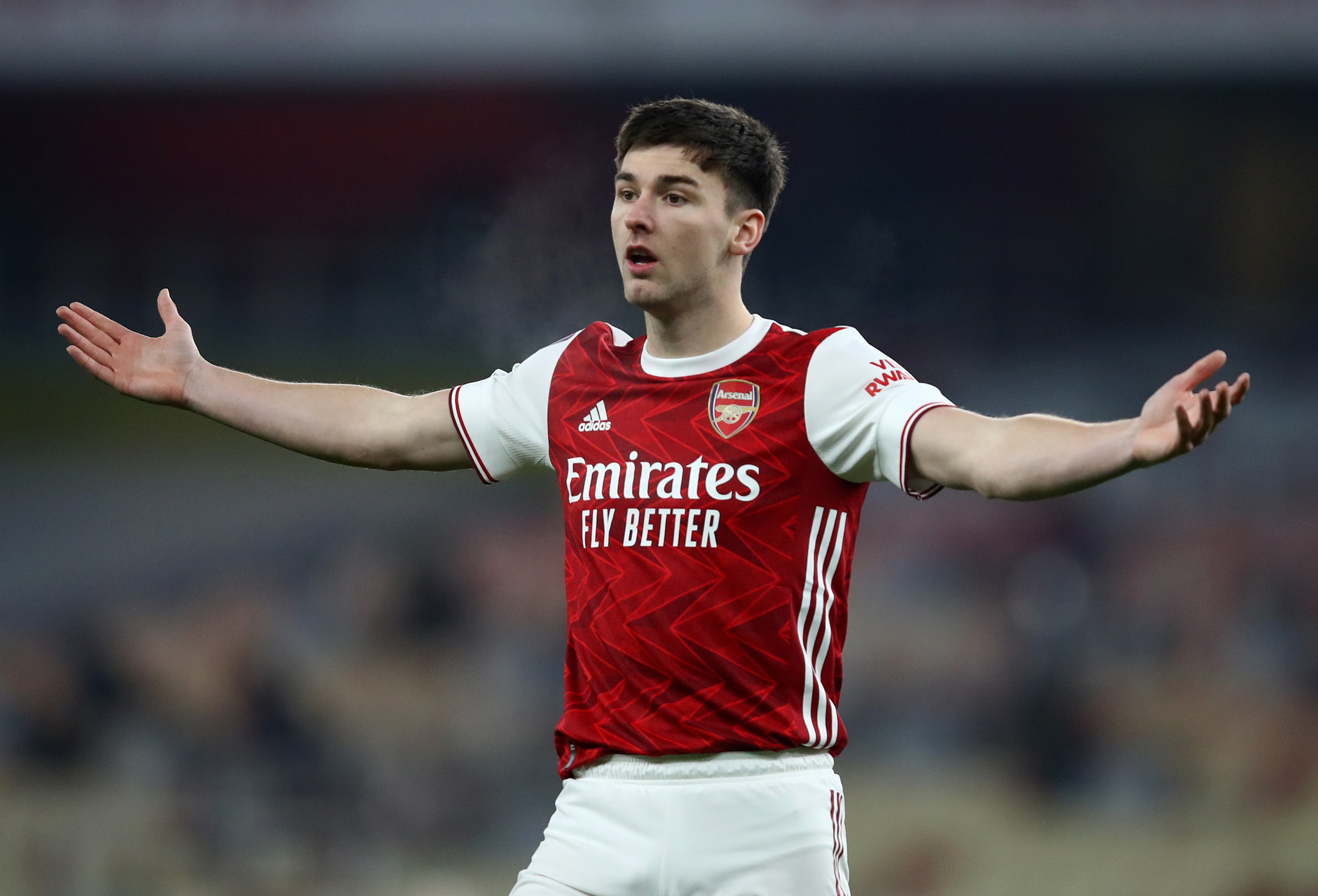 Arsenal Receive Kieran Tierney Injury Update After Crystal Palace Draw