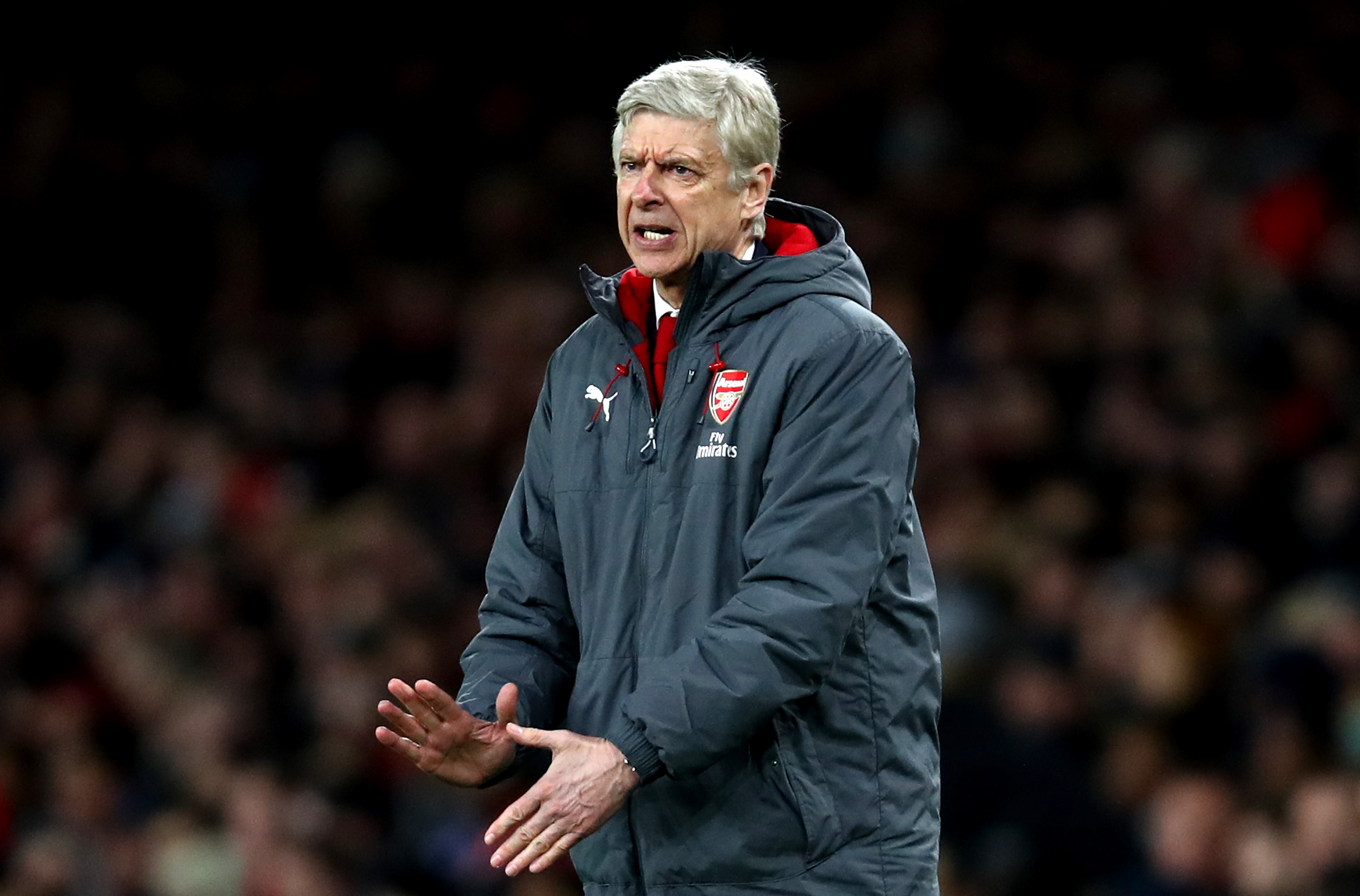 Arsenal manager Arsene Wenger claims English players are masters of diving