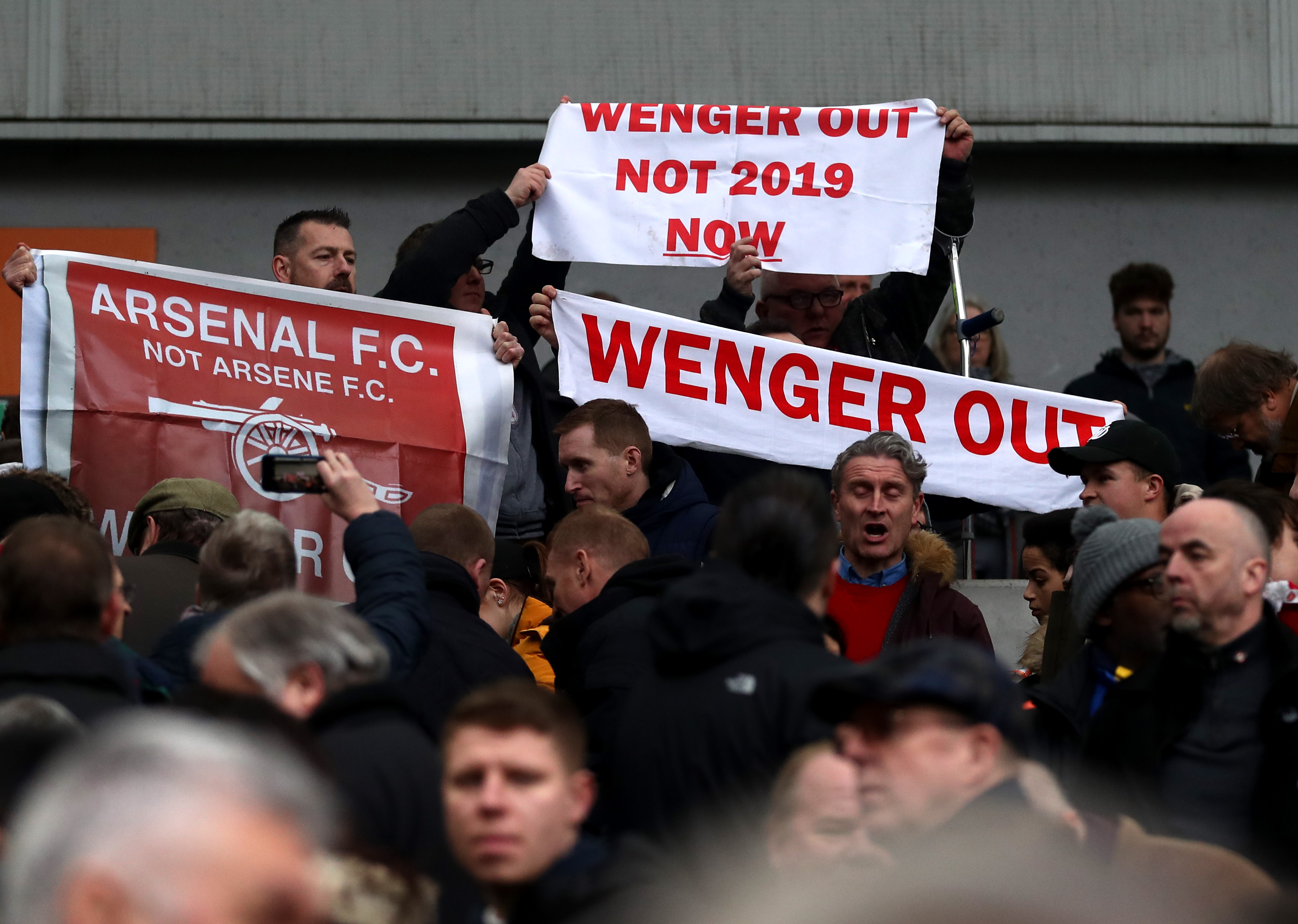 Arsenal Supporters' Trust want to see Wenger out