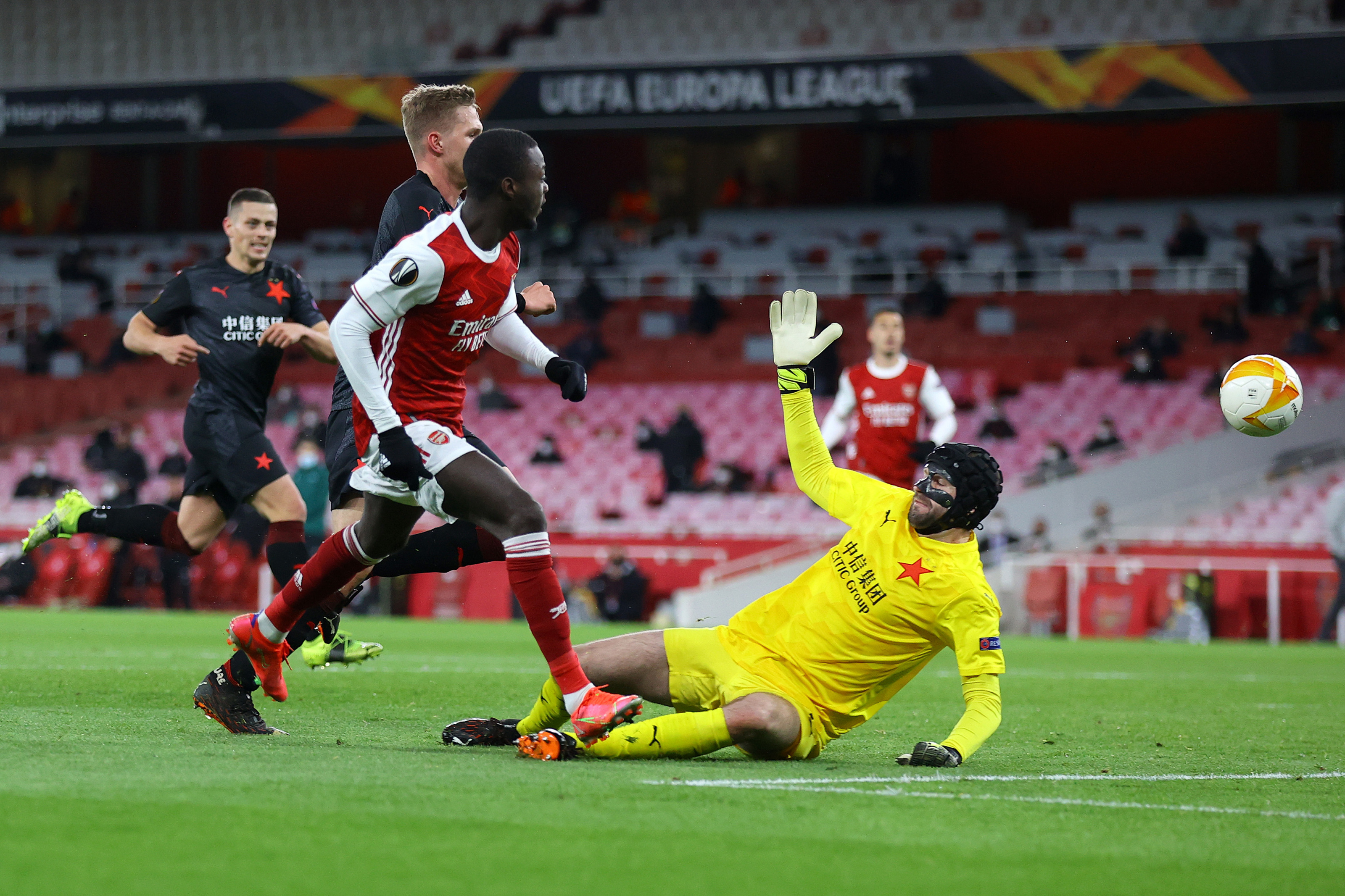 Arsenal player ratings vs Slavia Prague: Pepe goal cancelled out for draw