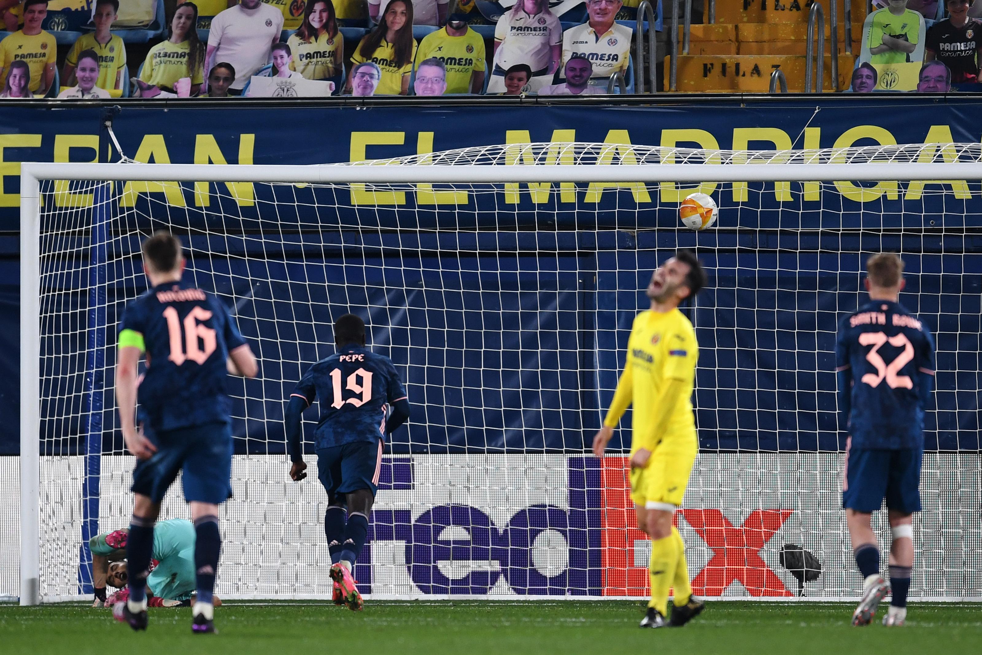 Arsenal player ratings vs Villarreal: Pepe penalty rescues hope